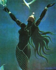 Iemanja, mother of fishes
