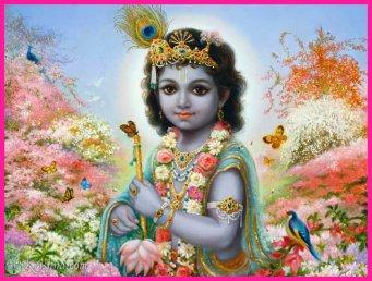 Krishna, god of love and joy