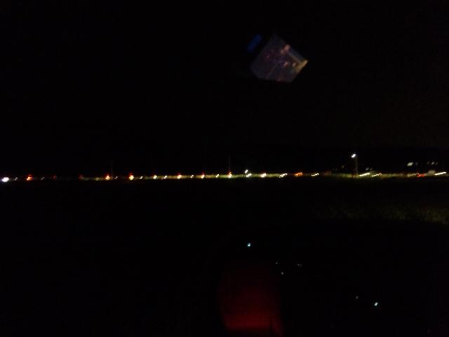 西尾市平原町でホタルを見る。別の蛍の動きが気になるかも