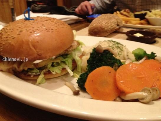 outbackハンバーガー