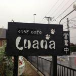 犬の美容院とドッグカフェが併設するお店Luanaに行ってきた