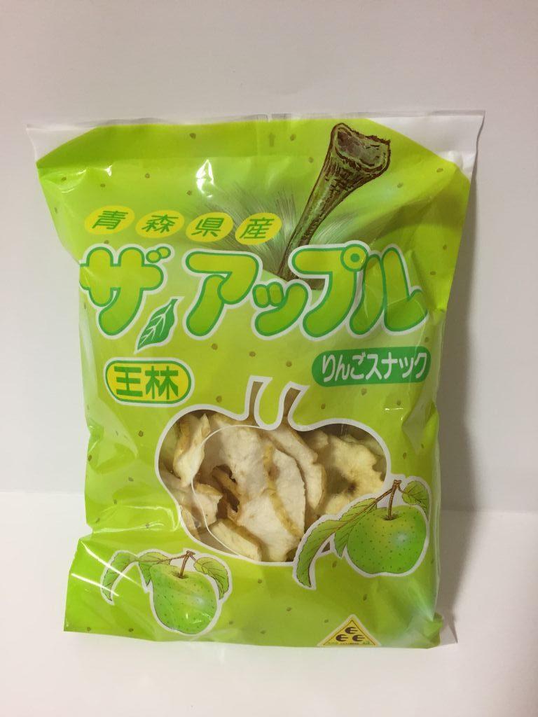 伊勢菓子博のアップルチップス