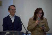 Pedro Santiago Allemant – Movie Director and Liliana de Olarte de Torres-Muga – Ambassador of Peru in Czech Republic. Photo by Alessandro Pucci