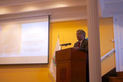 Eduardo Zeballos Valle Cónsul General del Perú en Arica, Chile