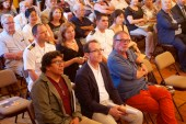 Presentación del filme en la Casa Bolognesi, Consulado de Perú en Chile