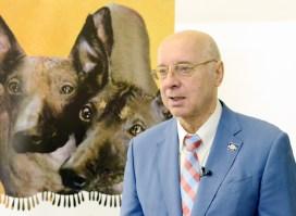 Georgiy Onishencko (President of the Ukrainian Kennel Union – host of the Euro Dog Show 2017 of Kiev). Photo by: Mauricio Alvarez