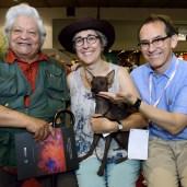 Alberto Quintanilla, Estelle Anthoni-Koch & Pedro Allemant (Photo by Mauricio Alvarez)