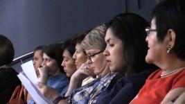 """Conference about """"El Perro sin Pelo del Peru"""" at 35MM Cinema in Moscow. Photo by Mauricio Alvarez"""
