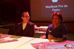 Pedro Santiago Allemant (réalisateur du film) et Leonor Villagra (Association Nazca - Bruxelles)