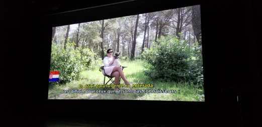 """Scène de film """"El Perro sin pelo del Perú con pelo"""". Photo by Annie Gauthier."""