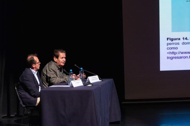 Blgo. Víctor Félix Vásquez Sánchez (participante central del documental – Director de Arqueobios). Photo by Jose Luis Ortíz Tello / appp –adpp©2019.