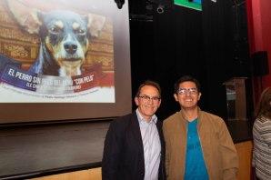 Pedro-Santiago Allemant (Realizador del filme) y Diego Manchez Raymondi (artista plastico). . Photo by Jose Luis Ortíz Tello / appp – adpp©2019.