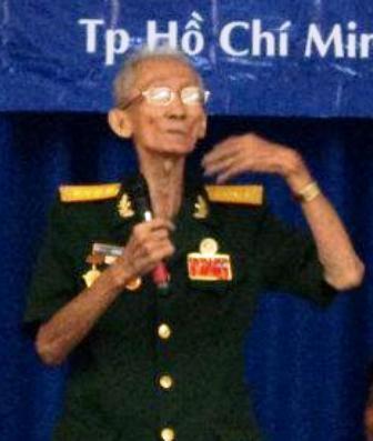 Đại tá Lê Bá Ước - Trung Đoàn trưởng Đoàn 10 Đặc công Rừng Sác