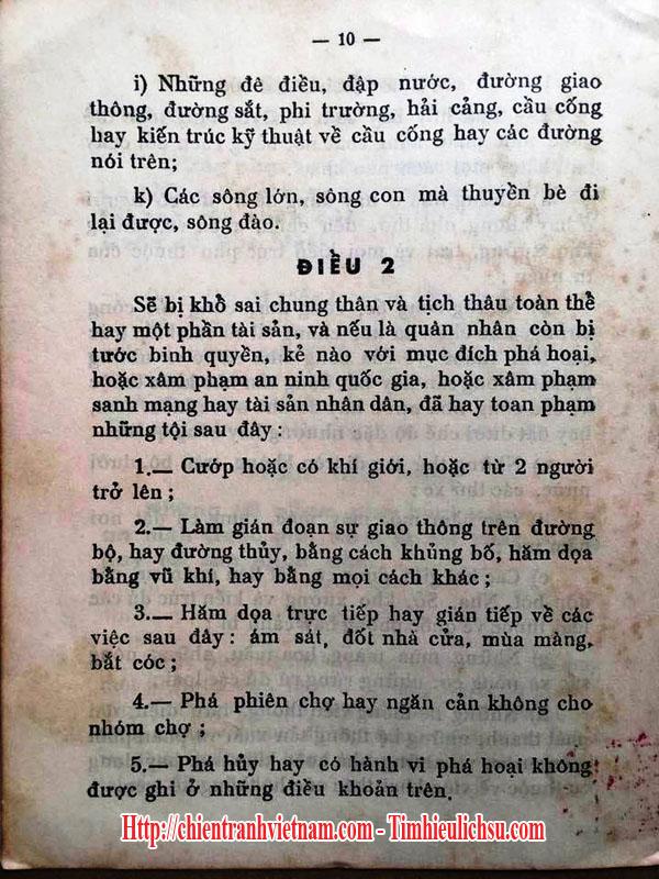 Luật 10/59 xử tử bằng máy chém của tổng thống Ngô Đình Diệm trong chiến tranh Việt Nam - South Vietnamese leader Ngo Dinh Diem's 10/59 edict with guillotine in Vietnam war - 03