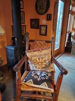Kitchen corner for warm seating