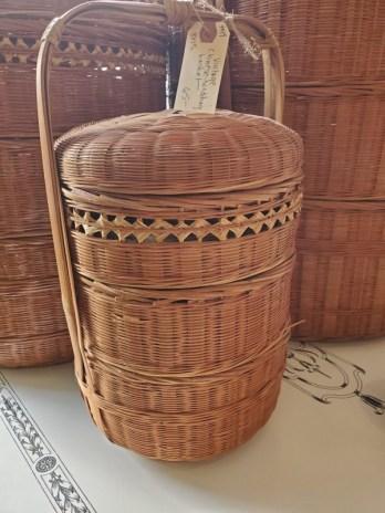 hand made vintage baskets