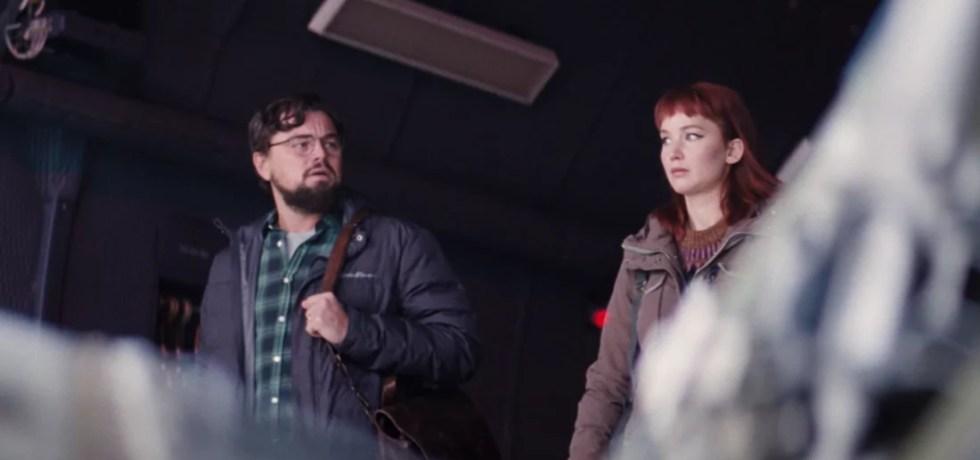 Don't Look Up: Leonardo DiCaprio e Jennifer Lawrence su Netflix dal 24 dicembre