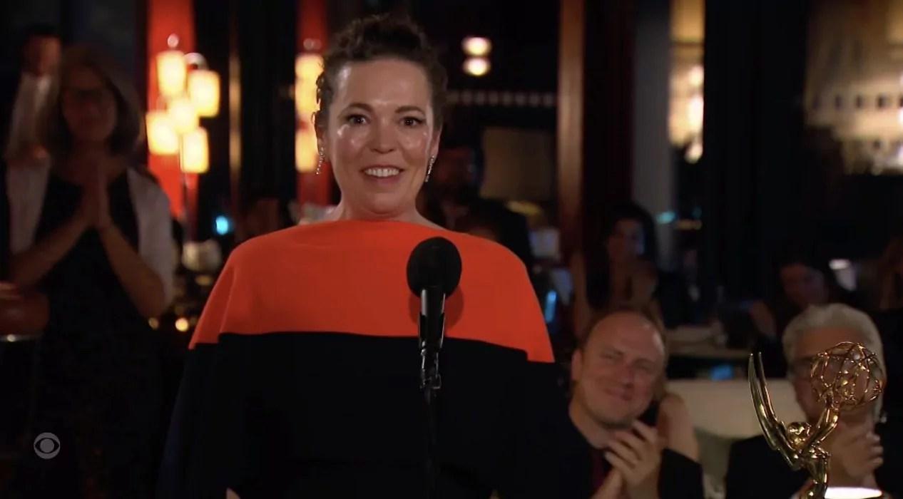Emmy 2021: Olivia Colman vince come miglior attrice in una serie drammatica grazie a The Crown