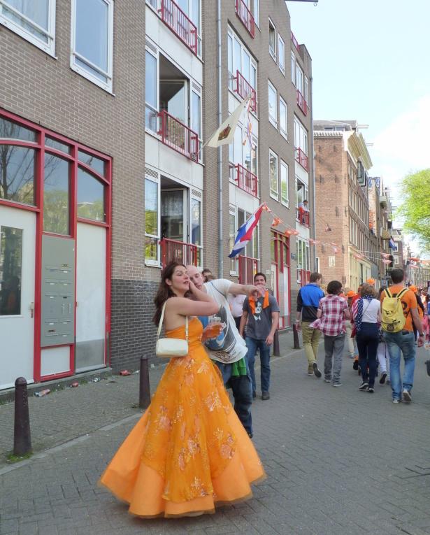 Mon séjour en Hollande durant la fête de la Reine!