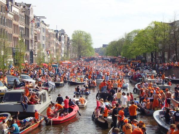 fête de la reine Amsterdam