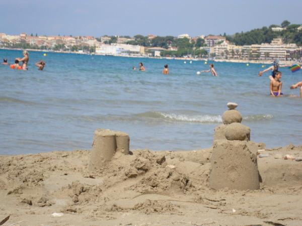 châteaux de sable