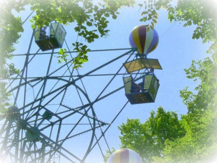 manège montgolfières