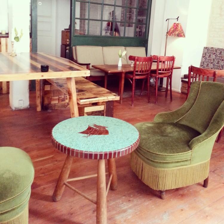 salon de thé vintage
