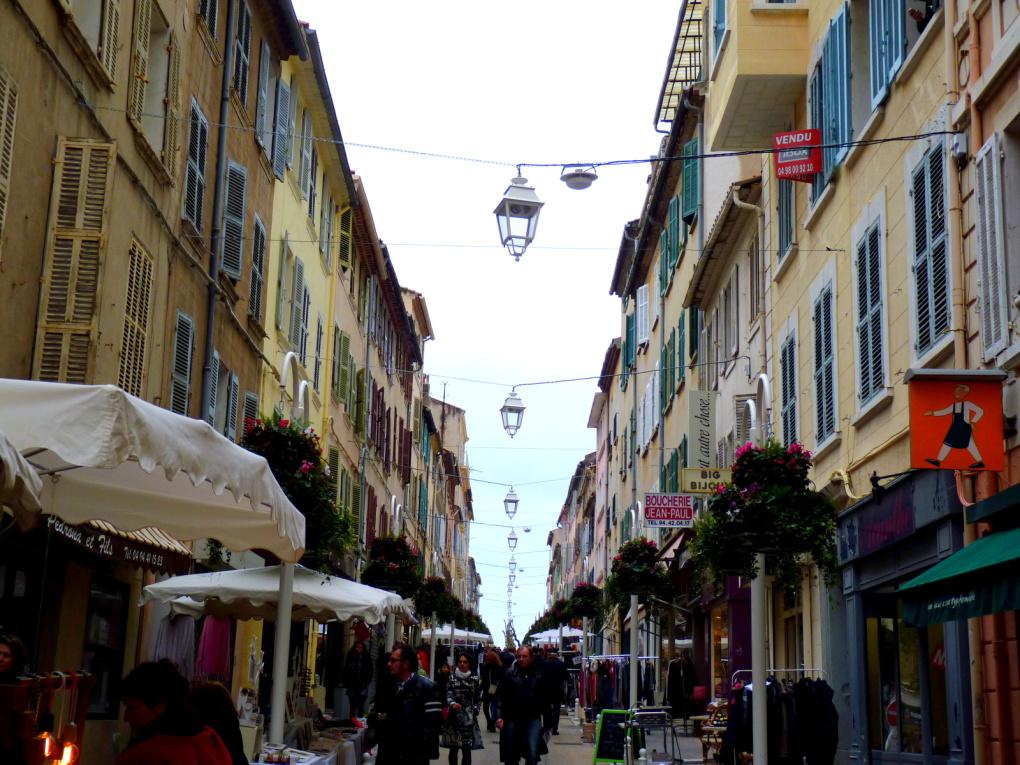 Goûter / rue Lamalgue au Mourillon