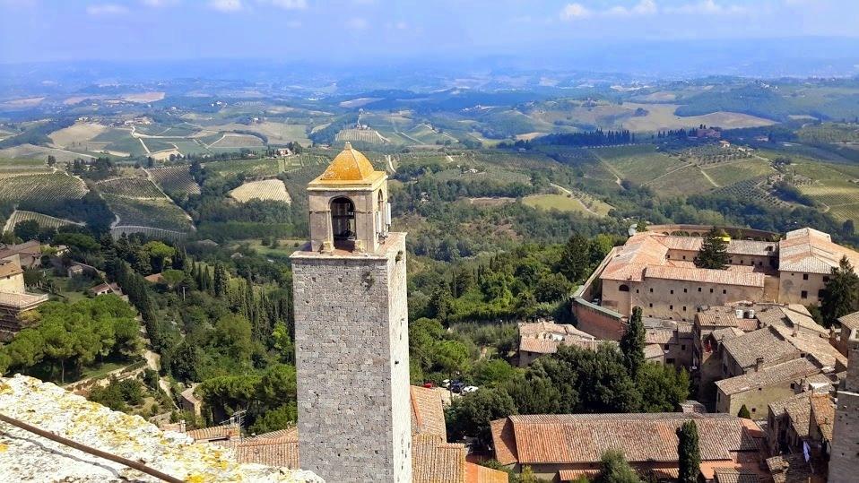 Virée en Toscane...