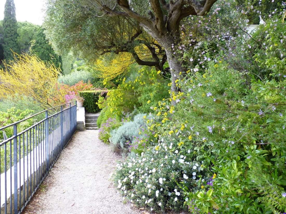 Jardin remarquable et vue sur Hyères
