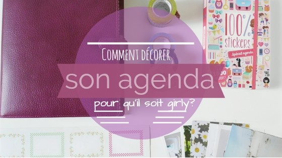 Comment customiser son agenda ?
