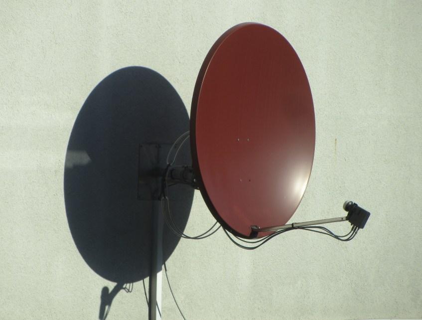 satellite dish with purpose