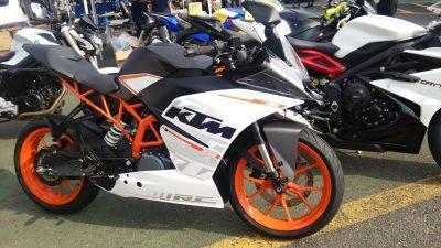 KTM【RC250】インプレッション