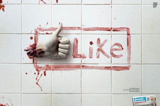 """Like"" de miedo"