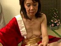 六十路のデカ乳首お婆ちゃん、宮田清子さんの使い古された乳首