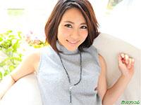 敏感乳首の越川アメリさんが早くもカリビアンコムで無修正化!