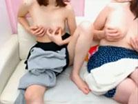 レズ友と一緒に二人で乳首オナニーをするという神動画がやばい!こんなん初めて見た!