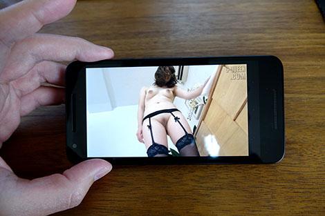 Androidで無毛宣言の動画を見る