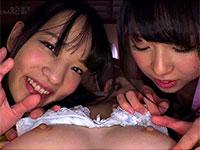 貧乳敏感乳首娘が同じく貧乳のあべみかこ&あおいれなちゃんにレズられる主観レズ物が良さ気!