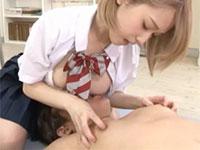 """乳首こねくり椎名そらちゃんがついに """"すんごい乳首責めで中出しを誘う痴女お姉さん"""" となって降臨!"""