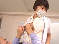医師会会長の歯の治療中に長くて敏感な熟れ乳首を弄られ、心は嫌がっているのに乳首は勃起してしまう国見りさ