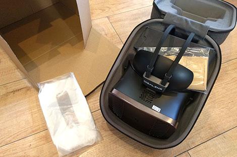 VRヘッドマウントディスプレイ「IDEALENS K2」の外観