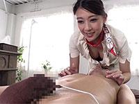 極上美人、香椎りあさんが乳首をこねくって絶頂へと導いてくれる夢の乳首エステサロンがオープン!