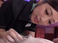 施術中はずっとチクビをお留守にしない阿部栞菜さんの「乳首ばっかり開発痴女エステサロン」開業です!