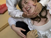 バス会社の飲み会で酔ってプロレス技を掛けられオッパイを揉まれたり乳首を触られ最後には自分から乳首を舐め出すムチポチャバスガイド