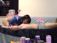 深田結梨と朝から晩まで乳首三昧!ソファーの上でイチャイチャ乳首イジり合いっこからの相互乳首舐めでオチンチンのビクンビクン躍動させまくるビンカンチクビなM男クンの動画!