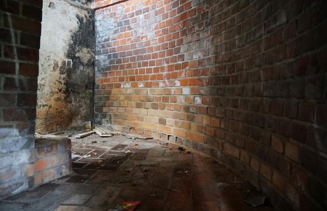 遙拝台 踊り場 階段 内部構造