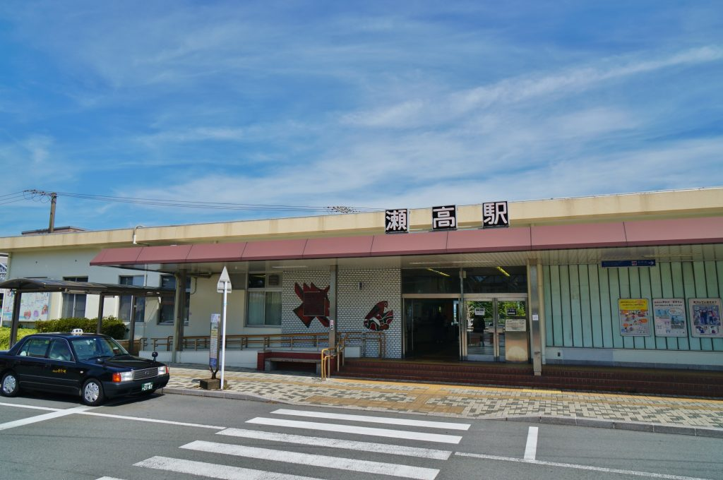 福岡県みやま市瀬高町下庄 JR瀬高駅 九州旅客鉄道鹿児島本線
