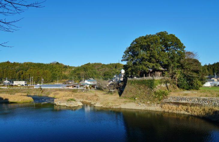 福岡県八女市黒木町田形354-1 釜屋神社 大楠 天然記念物