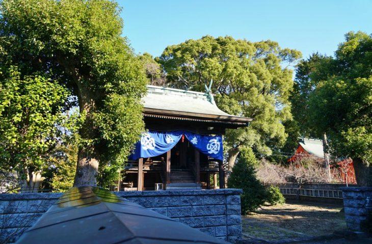 福岡県大牟田市鳥塚町88 三笠神社 神殿 ちくごさるき
